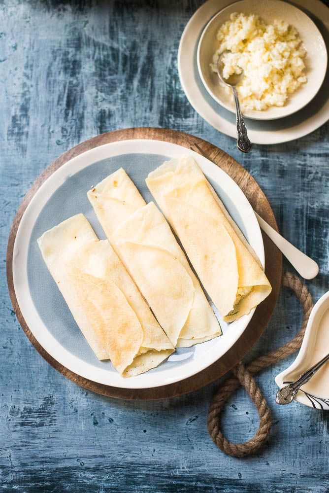 Mix and Stir: Patishapta ( Indian Crêpes with Sweet Coconut Filling ...