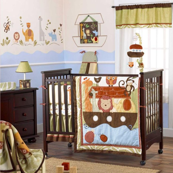 Noah Friends 6 Piece Baby Crib Bedding Set By Cocalo