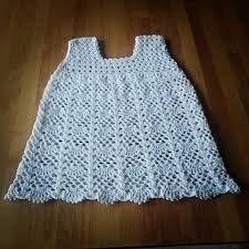 Bildresultat för virkad flickklänning