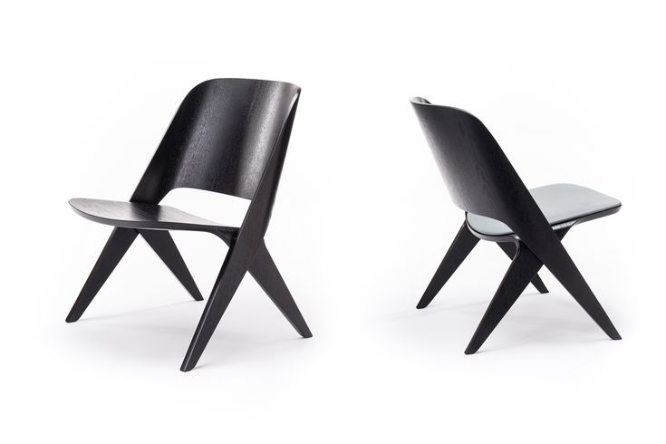 Black Lavitta Lounge Chair by Poiat