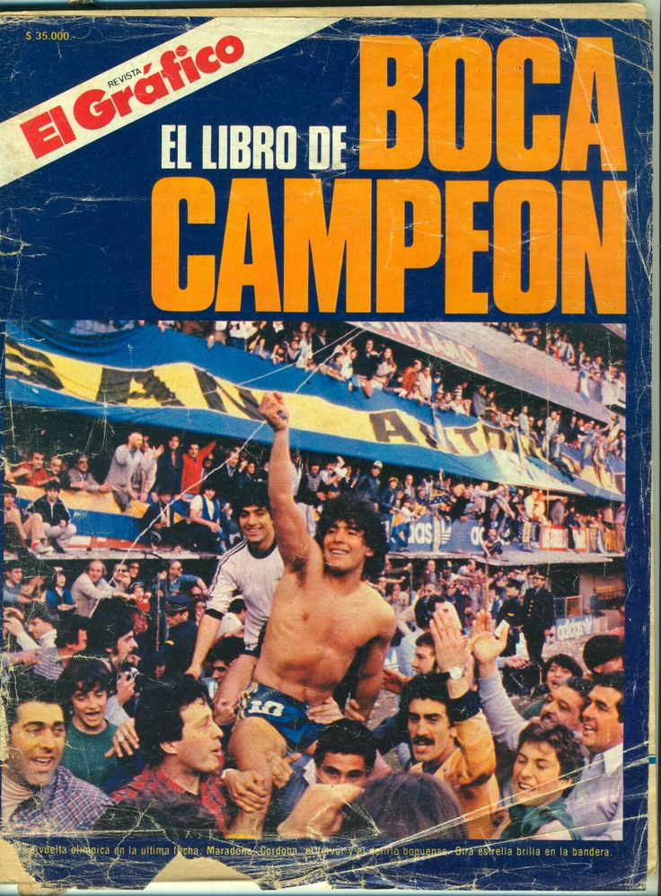Boca Juniors Campeon 1981