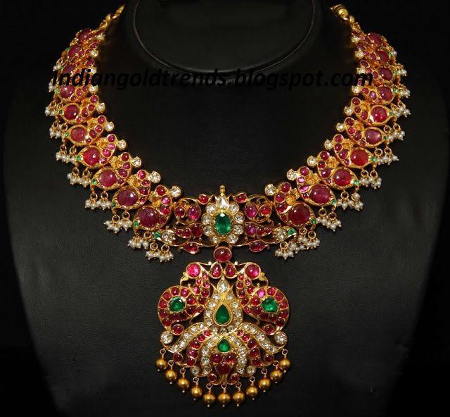 Kanjivaram Beads: 166 Best Images About Muthina Hara On Pinterest