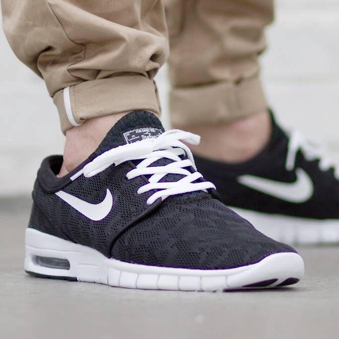 bbc799c872d77 Nike SB Stefan Janoski Max 'Black Camo' R$ 269,91 #sneakersmens ...