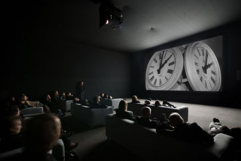 """nycartscene: """" Last Day Aug 1st: """"The Clock"""" Christian Marclay Lincoln Center, David Rubenstein Atrium, NYC **prepare to wait in line** Tuesdays–Thursdays, 8:00 am–10:00 pm Runs continuously from Fridays at 8:00 am through Sundays at 10:00 pm Closed..."""