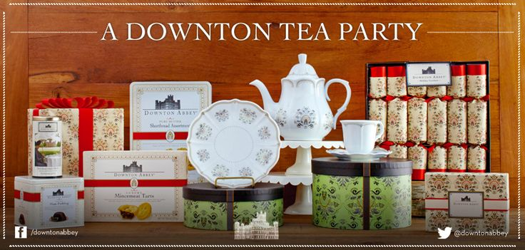 "Host a ""Do the Downton"" Tea Party with these unique offerings.   Which member of the Crawley family would you invite to your tea party?  http://www.worldmarket.com/category/seasonal/downton-abbey.do  #Ad"