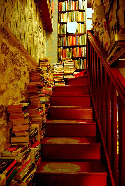 : Libraries, Bookshop, Bookstore, Dream House, Book Stairs, Books Books, Space