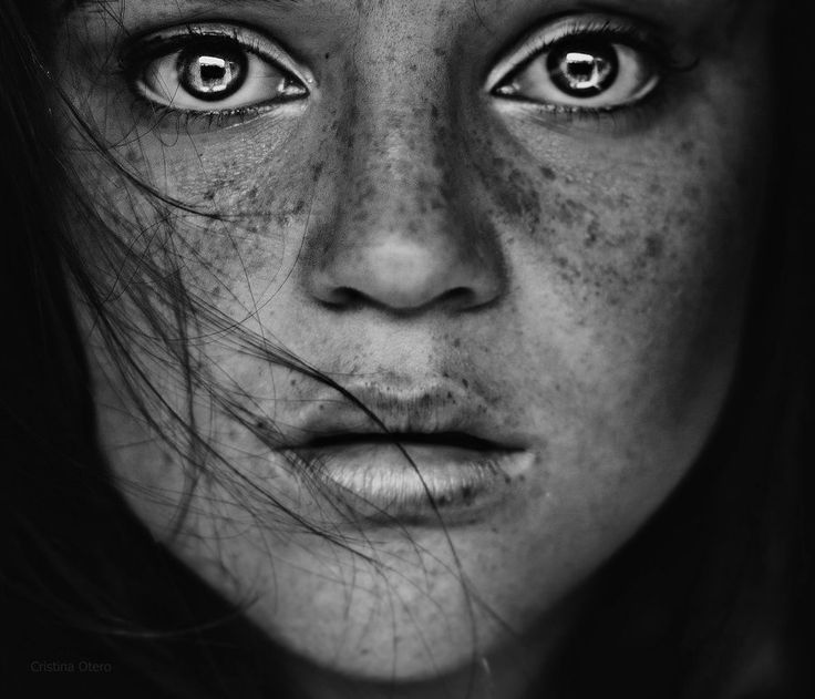 Black And White Photography Faces