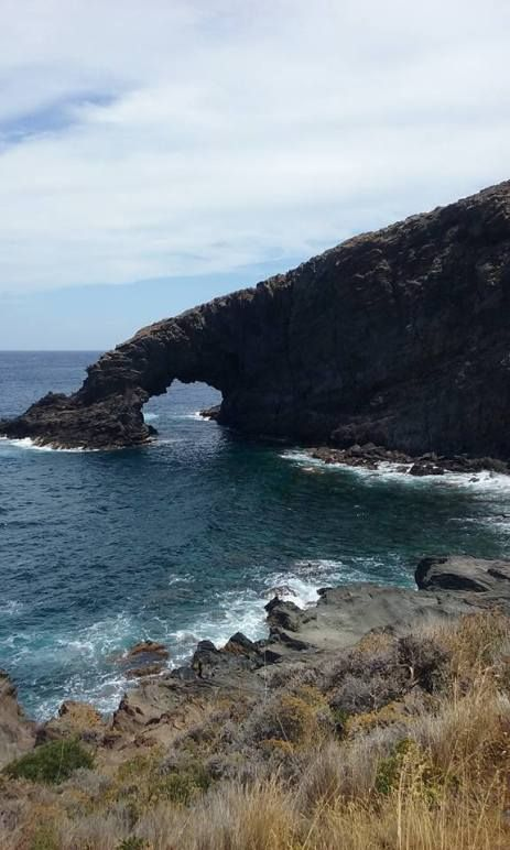 Elephant arch in Pantelleria