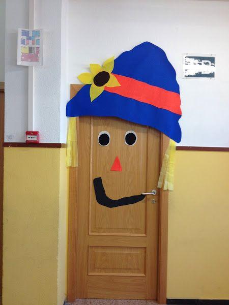 Las 25 mejores ideas sobre decoraciones de puertas de for Decoracion puerta otono