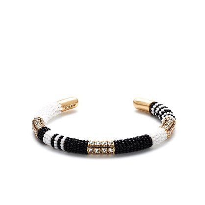 Beaded crystal cuff : Jewelry Shop | J.Crew