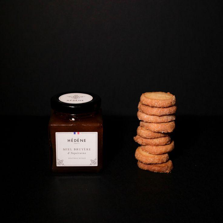 Sablés signés MP parfumés au miel de bruyère Hédène