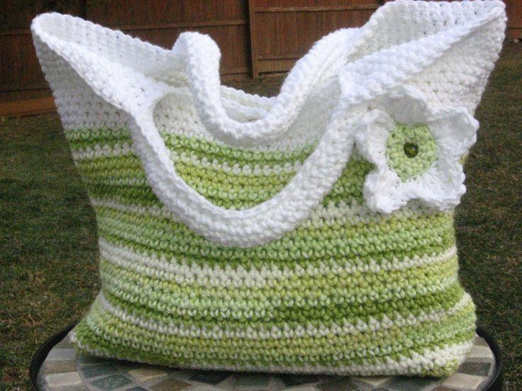 Spring Fling Bag Crochet Purse