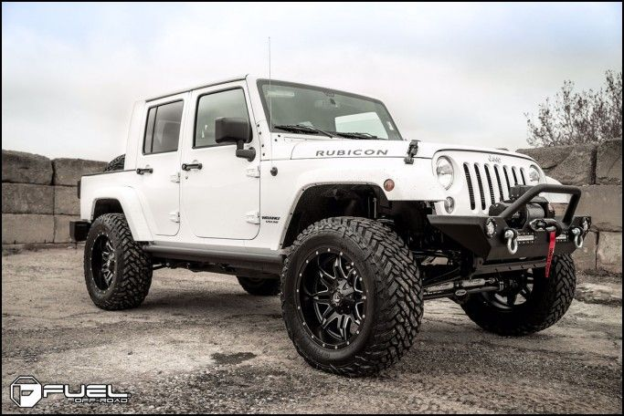 Wheel and Tire Packages for Jeep Wrangler