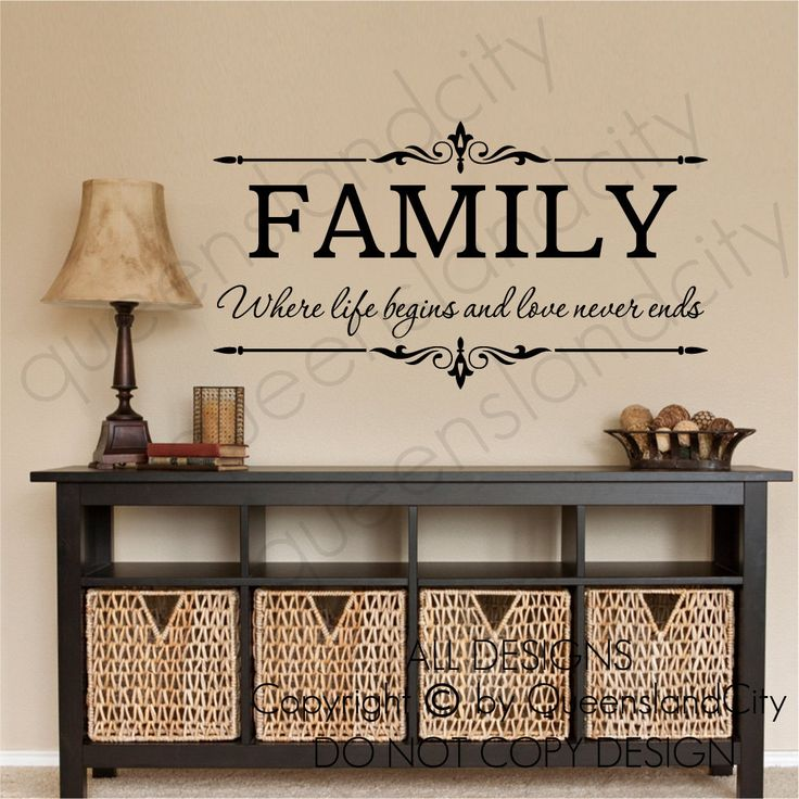 Family Where Life Begins & Love Never Ends by Queenslandcity2009, $19.99