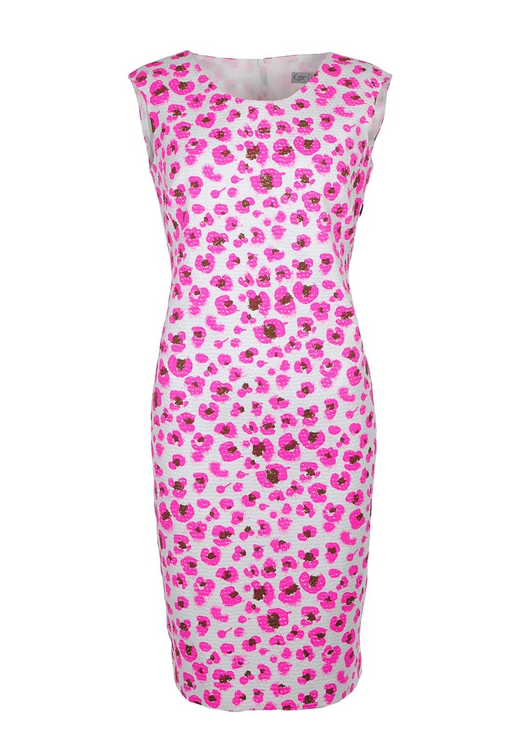 Kate Cooper Floral Print Dress, White | McElhinneys Online Department Store