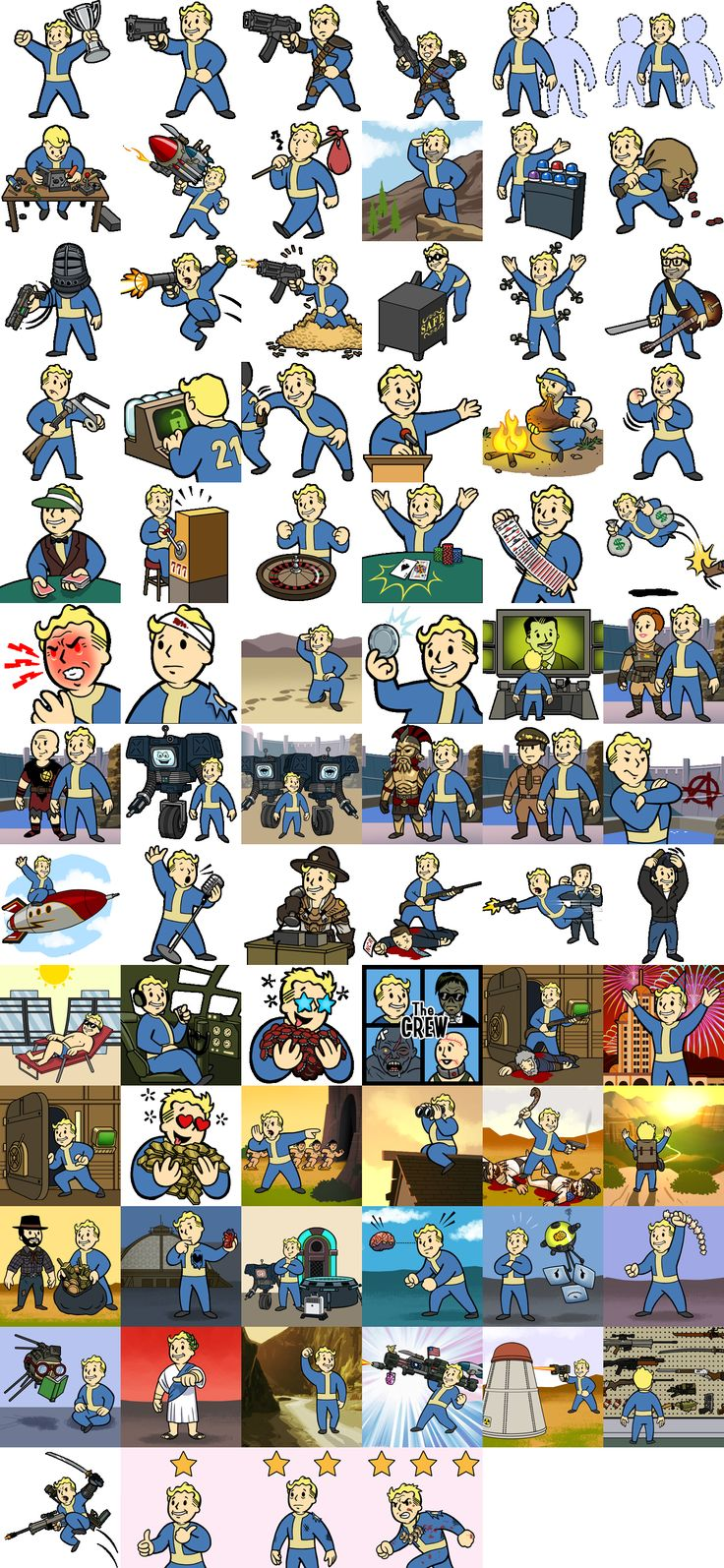 Fallout: New Vegas 76 Trophies