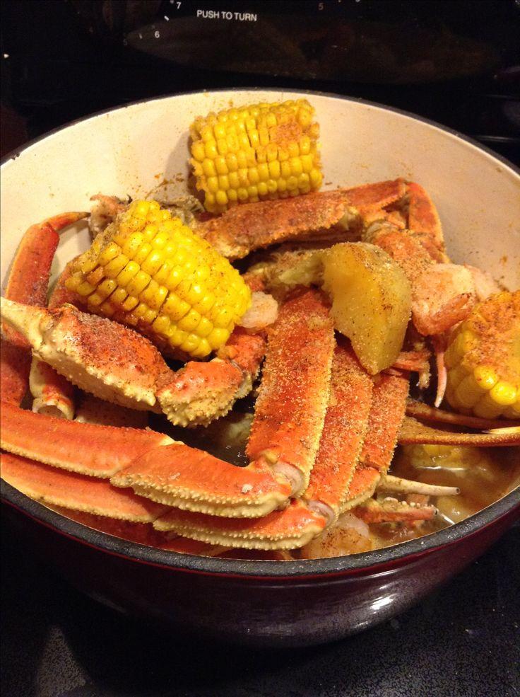 Good old Zatarain's Crab Boil 🍤🦀🍠🌽