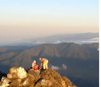 Volcan Baru, Panama's highest peak. The only place on Earth where you can see both the Atlantic and Pacific oceans.