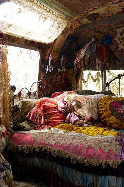 colorful, gypsy, room