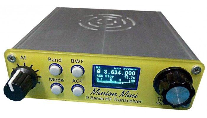 All-band HF direct conversion transceiver QRPver DC-3001 Minion Mini