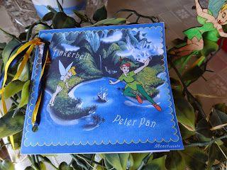 Προσκλητήριο με τον Peter pan και την Tinkerbell στη χώρα του ποτέ για τα διδυμάκια μας! Peter Pan & Tinker bell in Never land Christening invitation ! Code N° PB0041