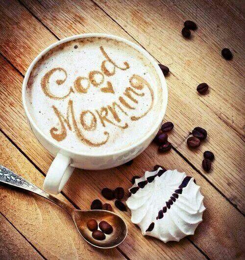 Good morning!!!! :) que tengas un día feliz, y disfrutes tu actividad !! ..saludos desde mi corazon!..