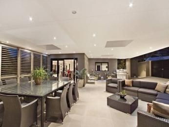 Grey living room idea from a real Australian home - Living Area photo 1047891