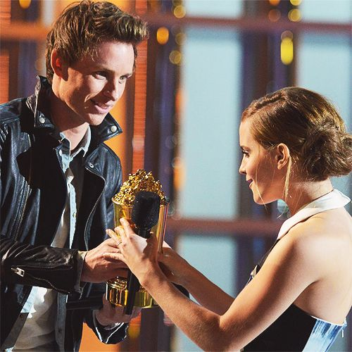 eddie and emma; can we all take a moment to appreciate the wonderfulness of this picture?