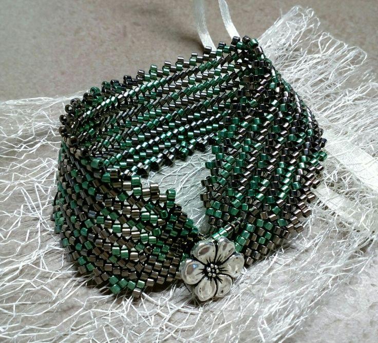 #291 Βραχιόλι με χάντρες / Seed bead bracelet