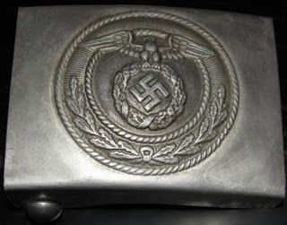 NSDAP SA STURMABTEILUNG STORM DETACHMENT ALUMINUM BELT BUCKLE GERMAN WW2 PRICE $29