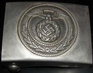 NSDAP SA STURMABTEILUNG STORM DETACHMENT ALUMINUM BELT BUCKLE GERMAN WW2 PRICE $29