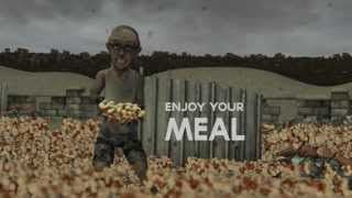 End of Mankind / Fast Food / Animation / Cinema 4D