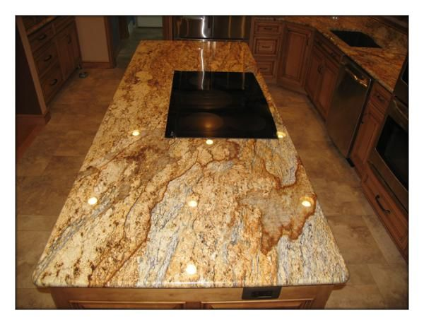 yellow river granite we got it in leather finish though not shiny