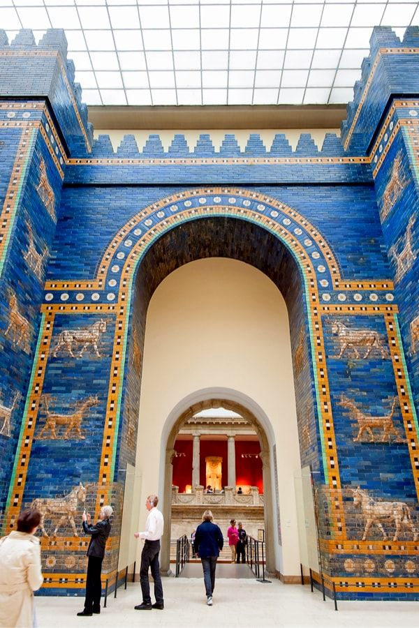 Babylonian City Wall In Pergamon Museum In Berlin Travel Activities Berlin Tours