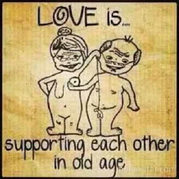 Love Each Other Cartoon: Love Is... Supporting Each Other