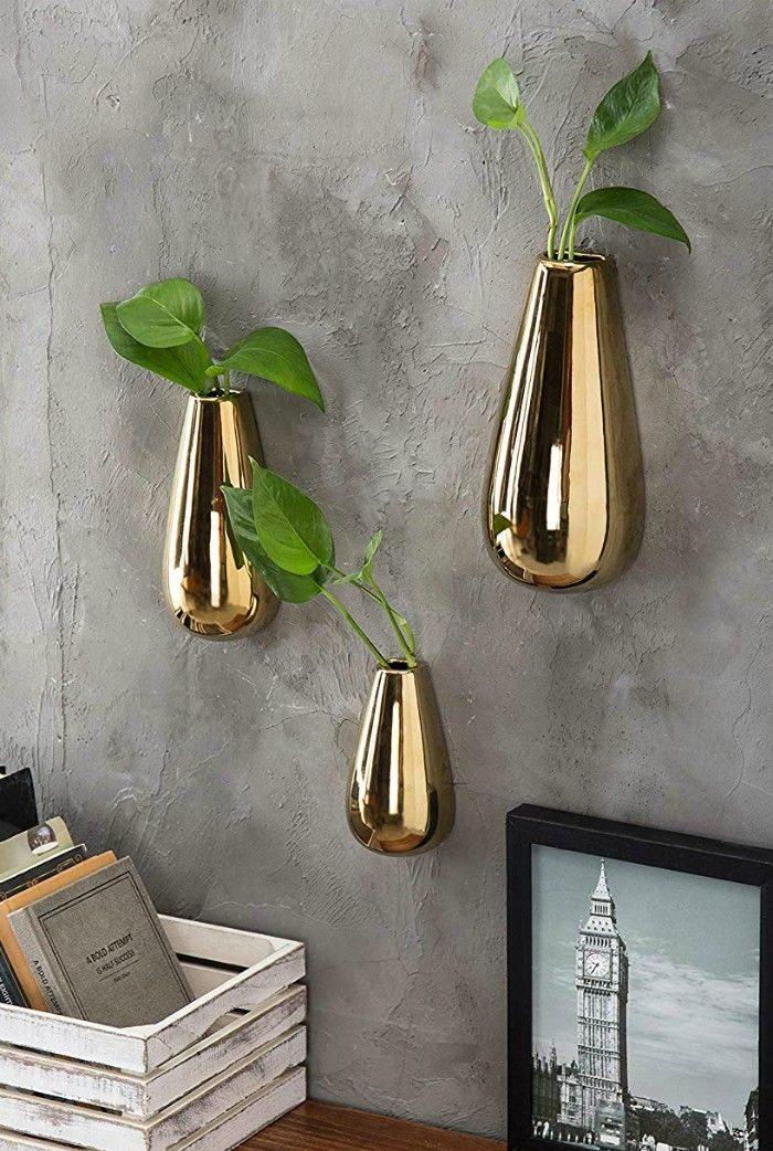 Ten Beautiful Vases You Can Hang On The Wall Wall Vase Decor Beautiful Vase Wall Vase