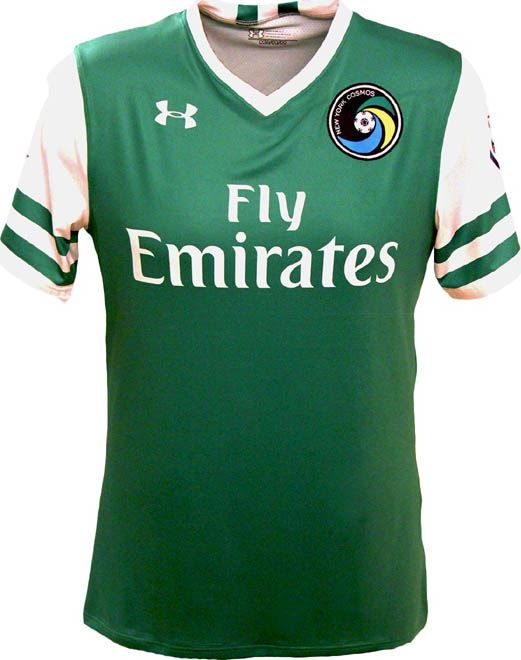 New York Cosmos 2016 Under Armour Away Shirts