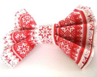 Bow tie for dog Dog collar bow tie Detachable dog collar bow tie