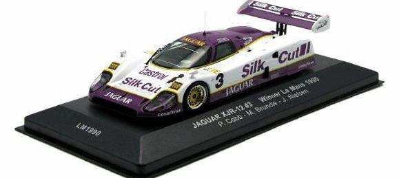 ixo Jaguar XJR-12 (1990 Le Mans Winner) Diecast Model Car Jaguar XJR-12 (1990 Le Mans Winner) in Purple and White (1:43 scale by IXO LM1990)This diecast model Jaguar XJR-12 (1990 Le Mans Winner) is Purple and White and feature (Barcode EAN = 4895102304417) http://www.comparestoreprices.co.uk/formula-1-cars/ixo-jaguar-xjr-12-1990-le-mans-winner-diecast-model-car.asp