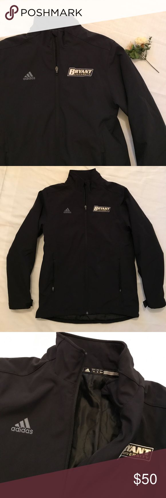 Adidas Cold Weather Jacket Black heavy duty Adidas Jacket with Bryant Logo in the corner. Brand new in excellent condition. Men's Small. adidas Jackets & Coats