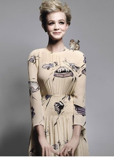 Carey Mulligan | Vintage Style | Romantic Style | Feminine Style | Ladylike Fashion | Personal Style Online | Fashion For Working Moms & Mompreneurs