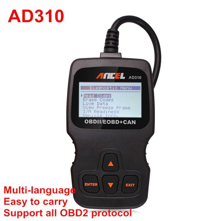 Culpa ancel ad310 obd eobd puede Lector de Código del motor del lector de código ms509 obdii kw806 Escáner Herramienta de Diagnóstico Auto automotivas
