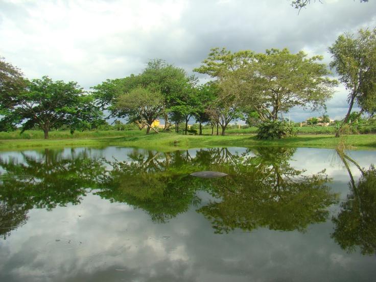Lago Artificial, Santiago De Los Caballeros, Rep. Dom.