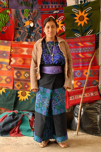 Portrait of Petra. Chiapas Mexico
