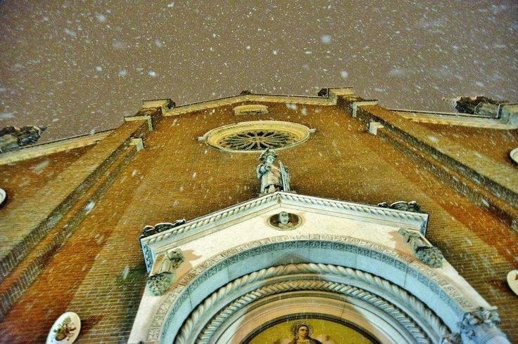 Basilica di Santa Maria delle Grazie, già Collegiata. Cortemaggiore, Piacenza - Foto Fabio Lunardini