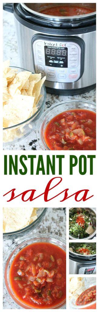 Easy Homemade Instant Pot Salsa Recipe! Instant Pot Cooking Made Easy! Plus an easy freezer recipe!
