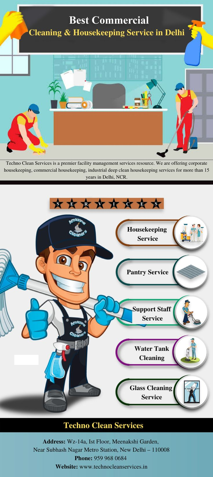 Best commercial housekeeping services in delhi in 2020