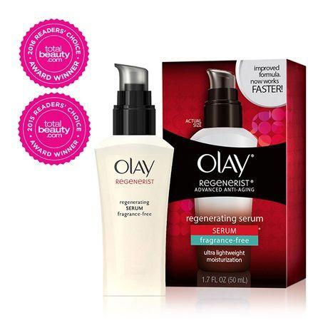 Olay Regenerist Regenerating Serum Fragrance-Free