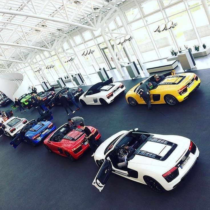 In case you need help with #R8color decision #yellowR8 #bluer8 #whiter8 #redr8 #blackr8 -- #Audi #R8plus #R8Spyder photo @vaselvolf43 @audiforumingolstadt ---- oooo #audidriven - what else ---- #Audi #R8 #newR8 #newR8Spyder #quattro #4rings #drivenbyvorsprung #AudiSport #carsbyAudiSport #r8coupe #AudiSportcars #audiaustria #r8spyder #audiforumingolstadt #audiforum #ingolstadt