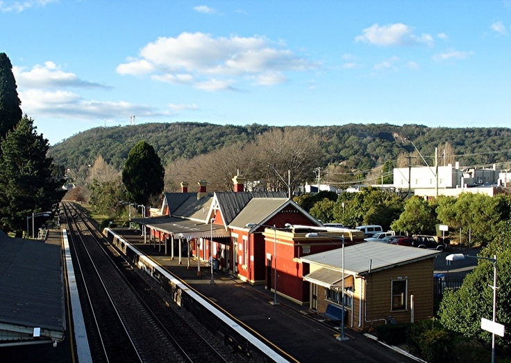 This is now our Australian home when we go home - Bowral.  It's beautiful.  Not Sydney, but a beautiful country escape!  Love this old train station in Bowral.